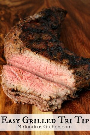 Tri-tip is great for grilling. A easy flavorful marinade and quick cooking time make this delicious beef perfect for date night, family dinner or a party. It is also wonderful for toasted sandwiches or in hearty salads.